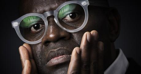 Alain Mabanckou le 6 juillet 2015. Crédit photo: JOEL SAGET / AFP