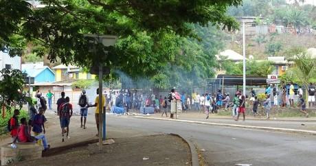 Mamoudzou, la capitale de Mayotte, le 12 novembre 2015. Crédit photo: ORNELLA LAMBERTI / AFP