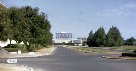 L'université de Dakar en 1967. Crédit photo: Phillip Capper via Flickr, CC BY 2.0.