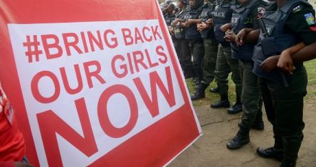 Depuis plus de deux ans, 218 jeunes filles sont prisonnières de Boko Haram au nord-est du Nigeria. PIUS UTOMI EKPEI / AFP