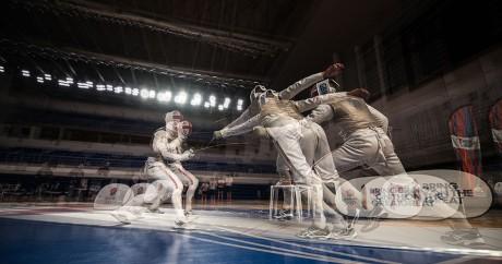 Un entraînement de l'équipe britannique à Rio, le 2 août 2016. GUSTAVO ANDRADE / AFP