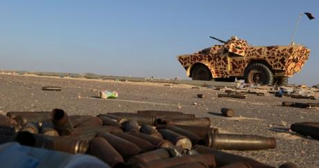 La coalition semble proche de reprendre Syrte aux djihadistes. MAHMUD TURKIA / AFP