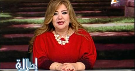 La présentatrice Khadija Khattab de Channel 2, dans le viseur du réseau de la télévision égyptienne. Capture d'écran YouTube