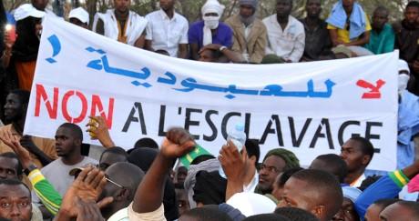 Une manifestation contre l'esclavage à Nouakchott, la capitale mauritanienne, en 2015. AFP