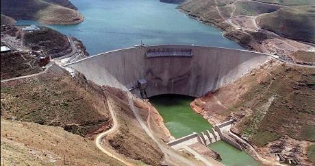 Le barrage de Katse au Lesotho. WALTER DHLADHLA / AFP