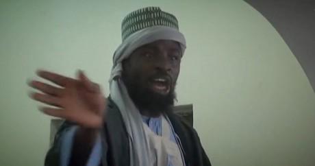 Abubakar Shekau en novembre 2014 dans une vidéo. HO / BOKO HARAM / AFP
