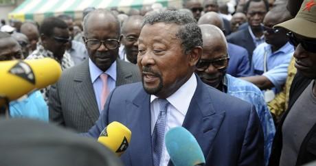L'opposant Jean Ping le 9 septembre à Libreville. STEVE JORDAN / AFP