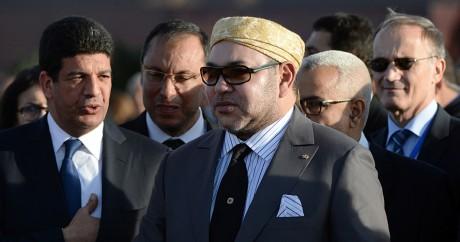 Mohammed VI le 4 février 2016. FADEL SENNA / AFP