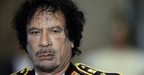 Mouammar Kadhafi, le 10 juin 2009 à Rome. FILIPPO MONTEFORTE / AFP