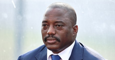Joseph Kabila, le 3 février 2015. CARL DE SOUZA / AFP