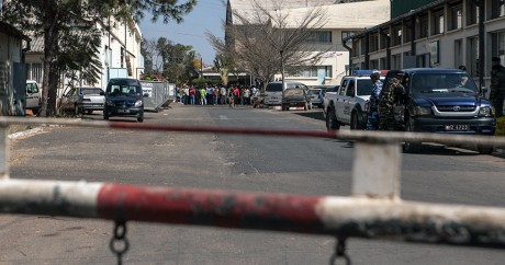 Une rue d'Antananarivo le 28 août 2014. RIJASOLO / AFP