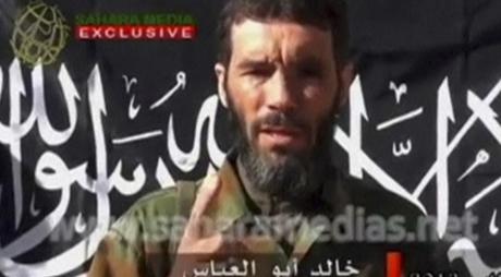 Un discours de Mokhtar Belmokhtar diffusé sur Sahara Media, le 21 janvier 2013. REUTERS/Sahara Media via Reuters TV