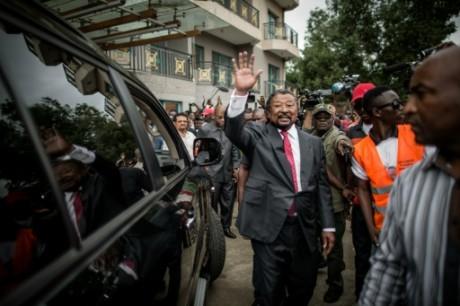 L'opposant gabonais Jean Ping le 28 août 2016 à Libreville AFP MARCO LONGARI