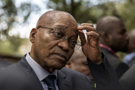 Le président sud-africain Jacob Zuma, le 15 novembre à Johannesburg AFP/Archives GIANLUIGI GUERCIA