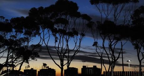 La ville du Cap en Afrique du Sud, le 17 juin 2010. PAUL ELLIS / AFP