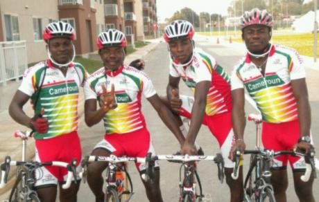 L'équipe du Cameroun. Photo DR
