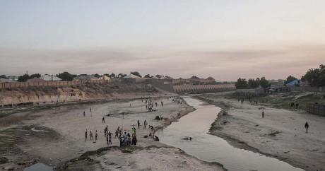Sur les bords du lac Tchad, le 6 décembre 2016. STEFAN HEUNIS / AFP