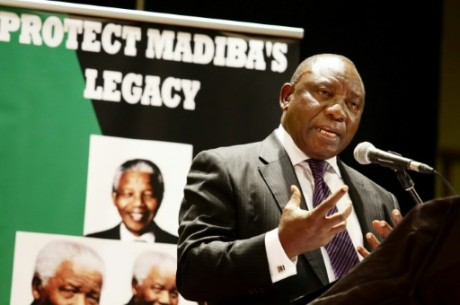 Cyril Ramaphosa, 64 ans, est candidat à la direction de l'ANC. Rajesh Jantilal/AFP