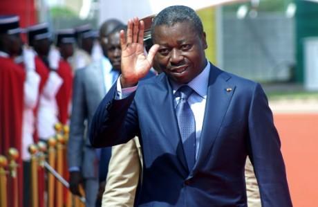 Le président du Togo, Faure Gnassingbé, le 25 avril 2016. AFP/Emile Kouton