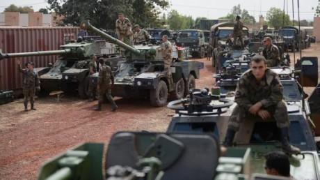 Soldats français de l'opération Serval, janvier 2013 © AFP