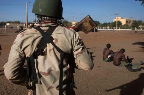 Soldats maliens, janvier 2013 © AFP
