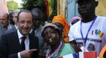 Hollande remporte son pari à Dakar
