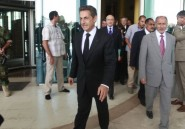 Mais que va chercher Nicolas Sarkozy  Tripoli?