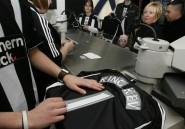 Newcastle: carton rouge pour un maillot noir et blanc