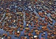 A Lagos, les populations s'installent sur l'eau