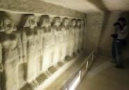 La malédiction du pharaon: une statue qui bouge toute seule