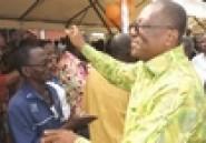 Paquinou à Grand Bassam / Les Baoulé formels : # On vote tous pour Ezaley # (Nouveau Réveil)