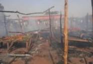 Bobo-Dioulasso : Le marché de Lafiabougou prend feu