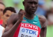 Athltisme : Le Kenyan Rudisha fait sa rentre ce vendredi