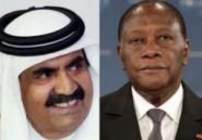 Opération séduction au Qatar pour le président ivoirien Alassane Ouattara