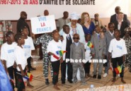 Visite de Mme Valrie Trierweiler au Mali : VERITABLEMENT DE CUR AVEC LES ENFANTS VULNERABLES