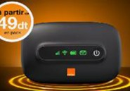 Orange Tunisie commercialise le Domino E5331, modem de poche 3G, à partir de 49 dinars