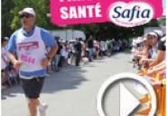 En vidéo des milliers de personnes au Parcours de Santé Safia