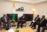 Ouattara rencontre le dg de la FAO et le président de la SFI au Japon (AIP)
