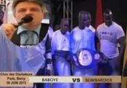 ( Video) Lutte Sénégalaise : Victoire de Bombardier sur Baboye à Bercy