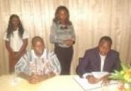 Promotion des écoles d'hôtellerie et de restauration au Burkina : Baba Hama en visite de courtoisie au CFP-Valba