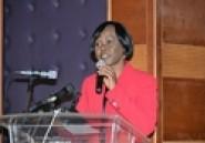 Séminaire de restitution de l'évaluation du système comptable et financier : le discours de la ministre Kaba Niale (Autre presse)