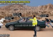 A corps d'un accord pour Kidal. Embouteillage dans le désert