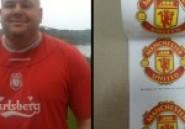 Insolite foot :  Un supporter de Liverpool crée un papier toilette aux couleurs de Manchester United