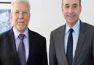 En photos : Taieb Baccouche s'entretient avec François Bayrou et Jean François Copé