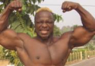 Images du jour : Tchabé Abraham, champion de bodybuilding d'Afrique de l'Ouest
