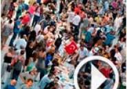 Vidéo - Turquie : les manifestants rompent le jeune à la place Taksim