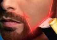 Barbe rasée au laser grâce à PHILIPS