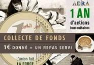 Appel à la solidarité avec les SDF pendant le Ramadhan : 1€ pour un repas