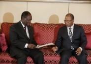 Le Premier Ministre Malien Diango Cissoko reçu par le Chef de l'Etat Ivoirien Alassane Ouattara