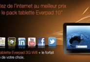 Orange Tunisie lance des Packs 3G avec la tablette Everpad E1050HG